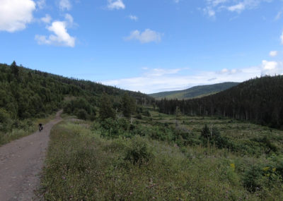 Bikepacking au Québec: les différents types de territoires